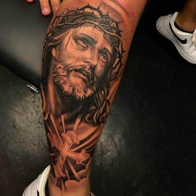 чикано тату иисус