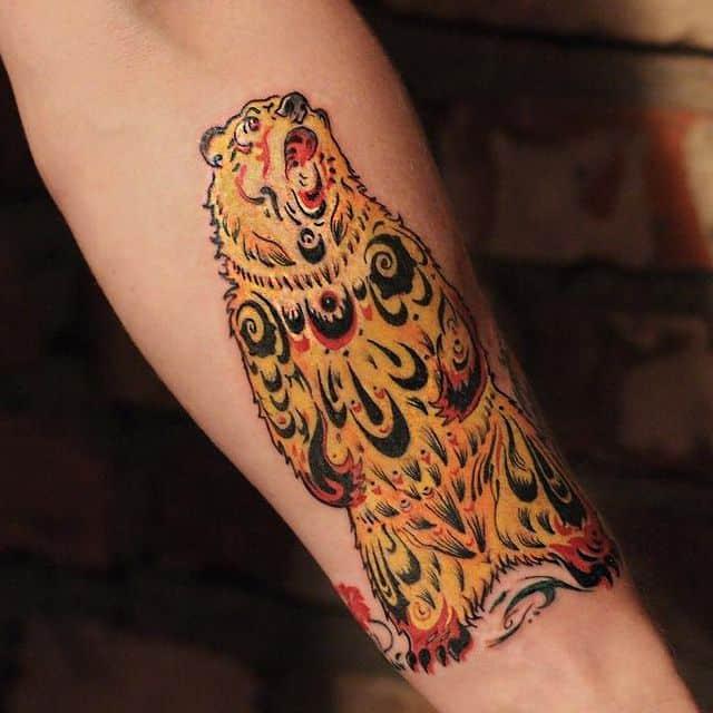 русский стиль тату
