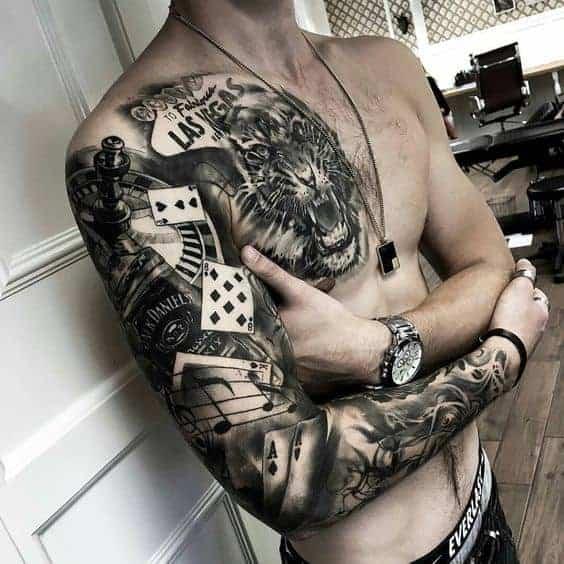 татуировки рукав