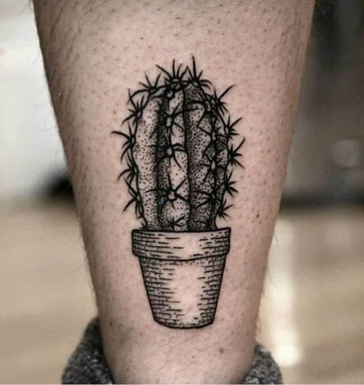 татуювання кактус