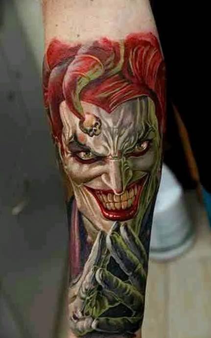 татуировки арлекин