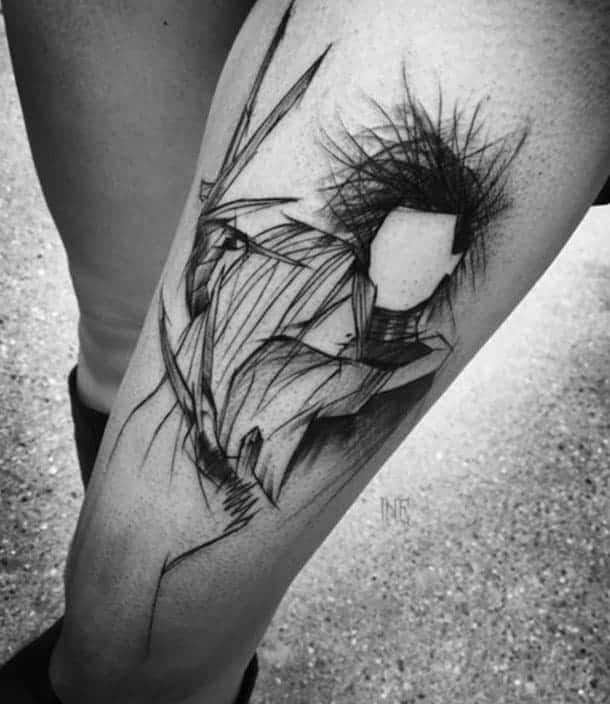 татуювання скетч