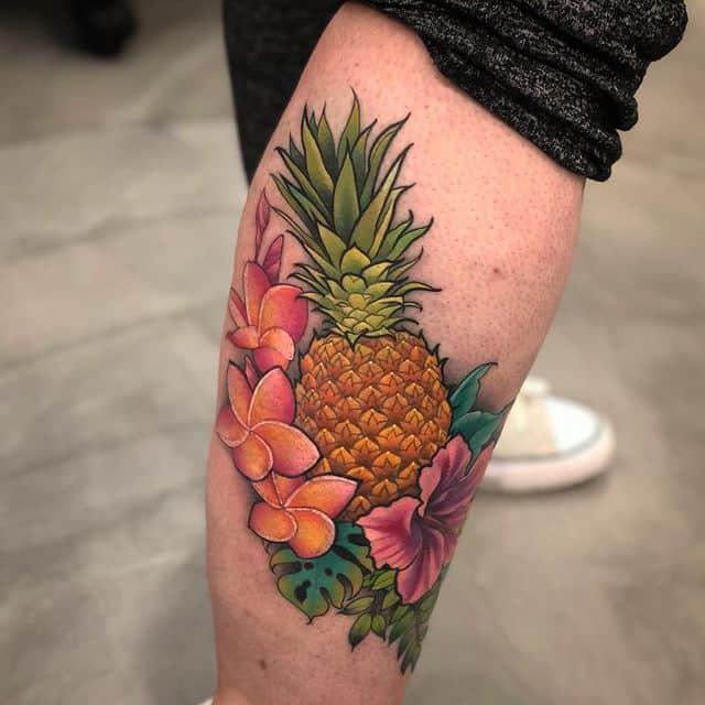 тату ананас