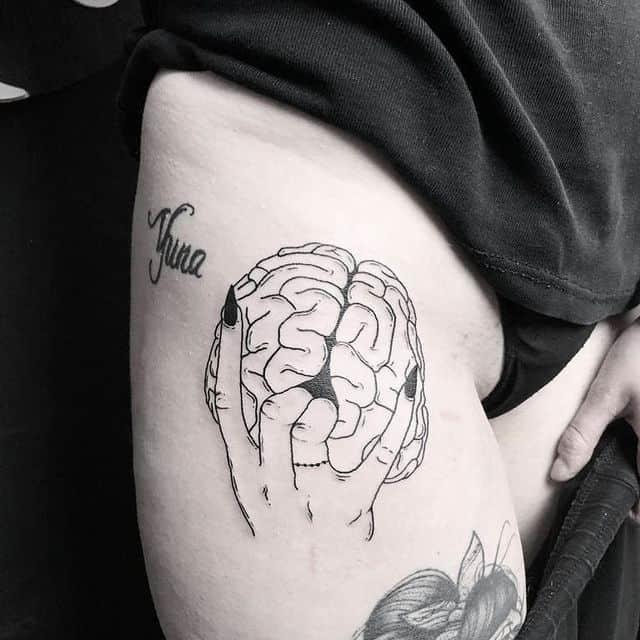 тату мозг