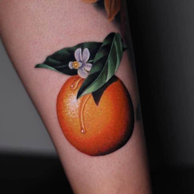 тату апельсин