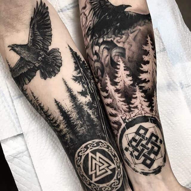 скандинавские татуировки