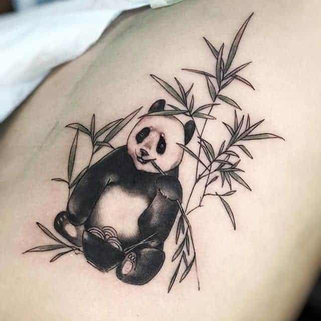 тату панда
