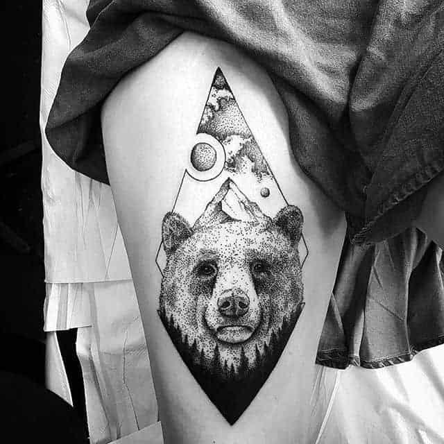 тату чб ведмідь