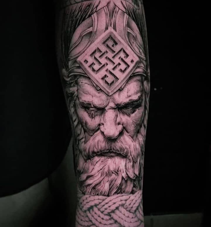 славянский стиль тату