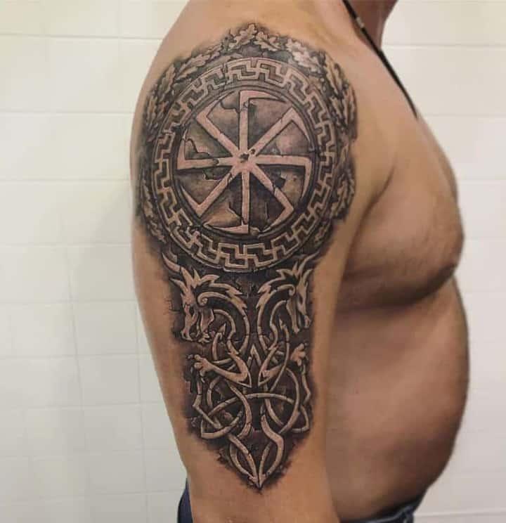 славянский символ тату
