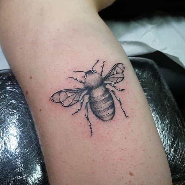 пчела тату