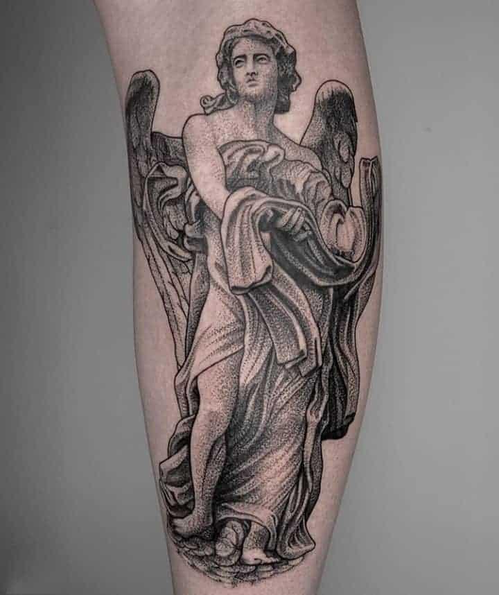 архангел тату чб