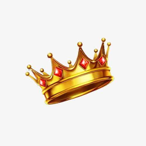 эскиз тату на шею корона