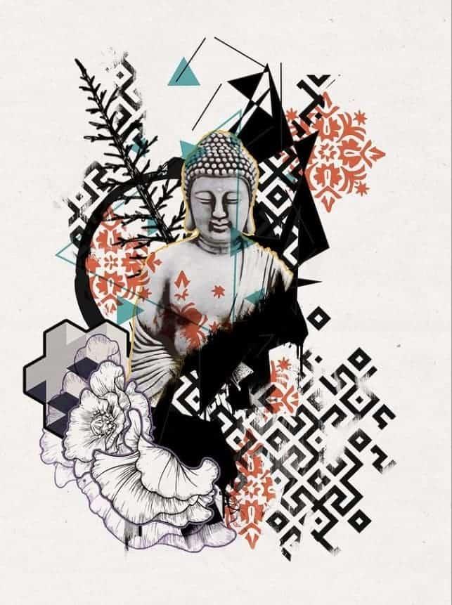 картинки для тату будда