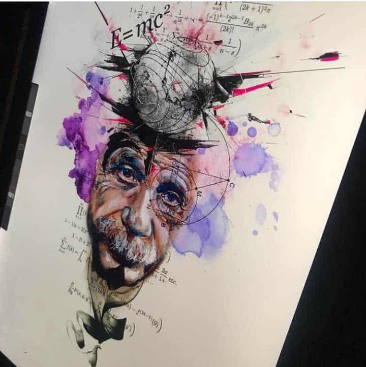 картинки для тату энштейн