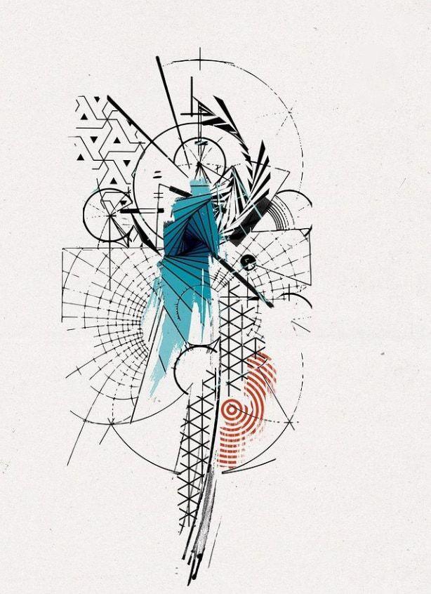 картинки для тату абстракция