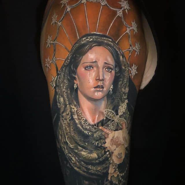 тату богородица