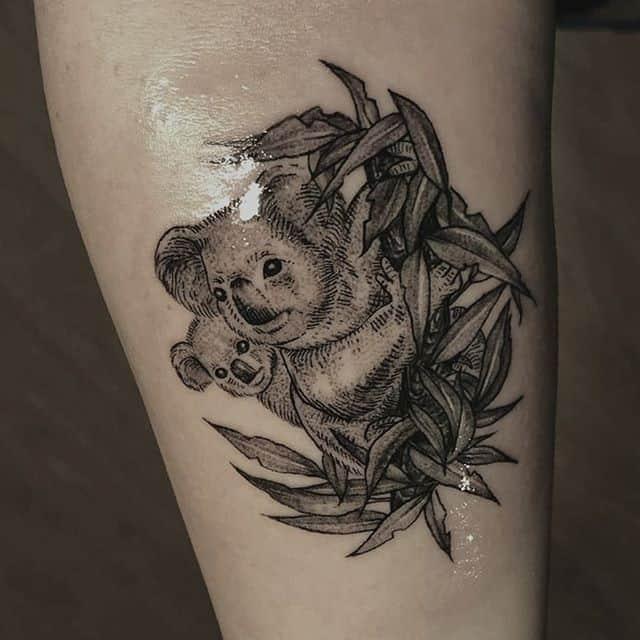 тату коалы
