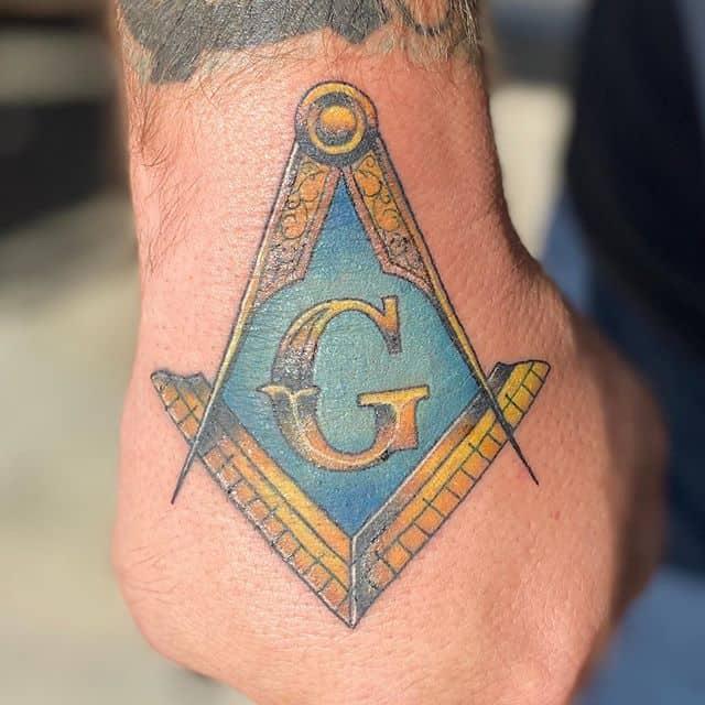 масонские тату