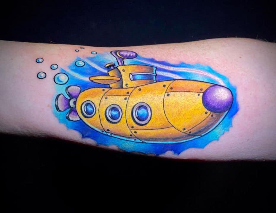 тату лодка подводная