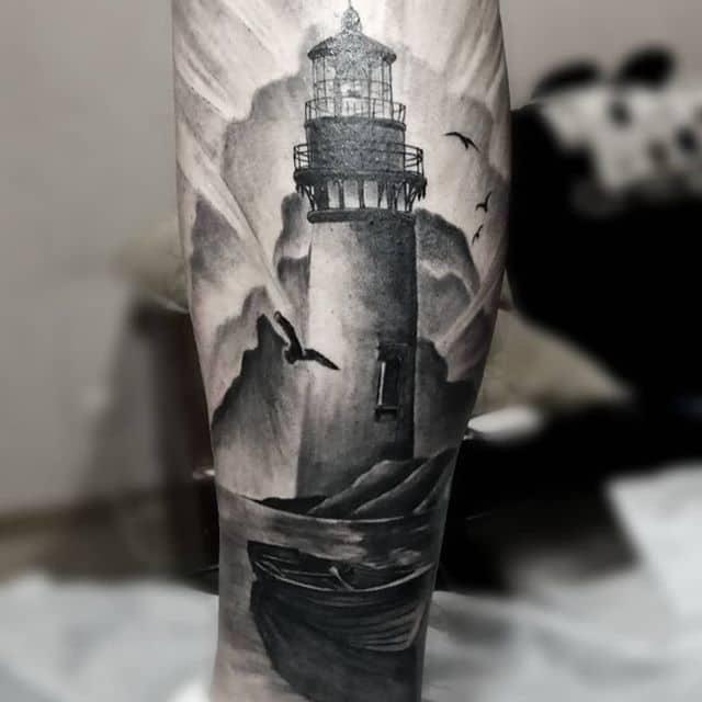 грейвош тату маяк