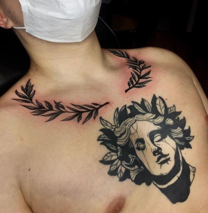 лавровый венок тату
