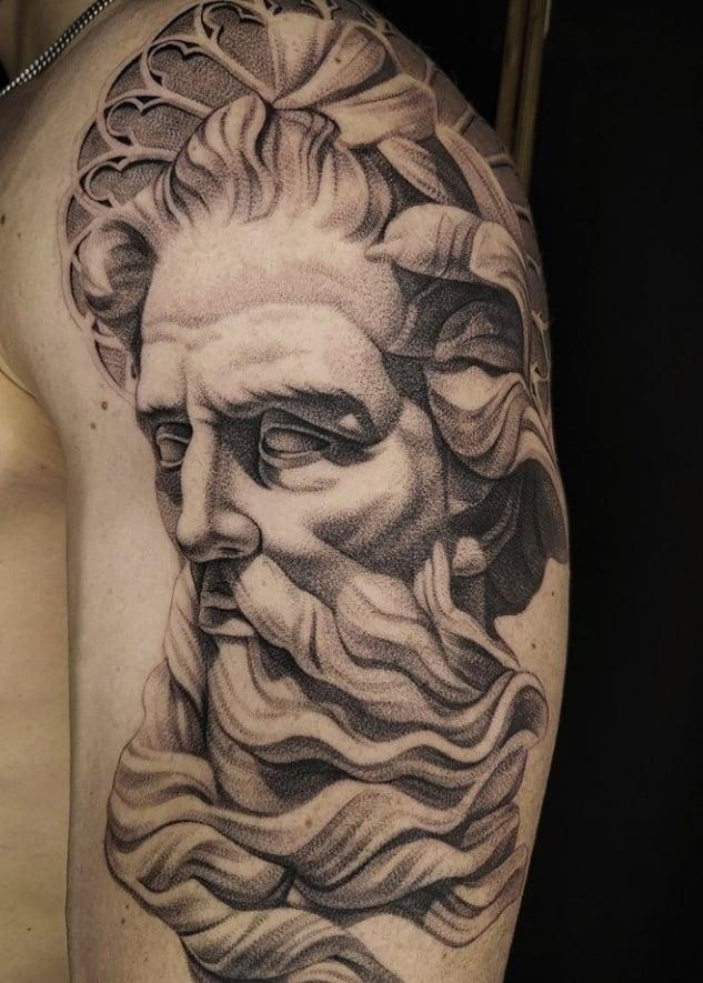 греческий бог тату
