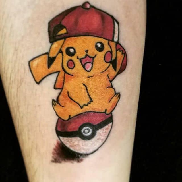татуировка пикачу