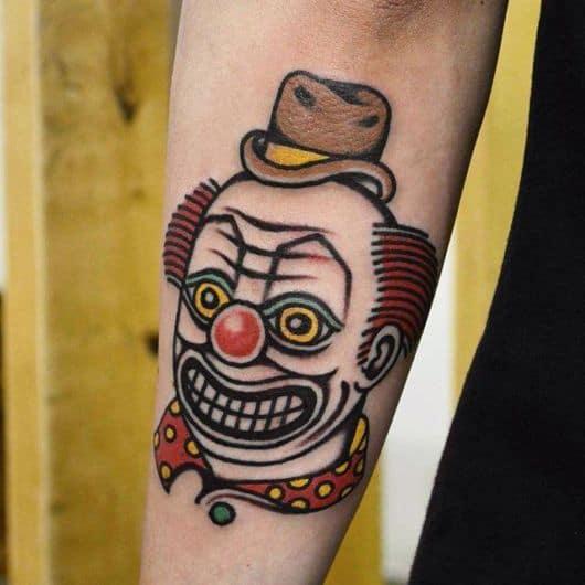 тату клоун