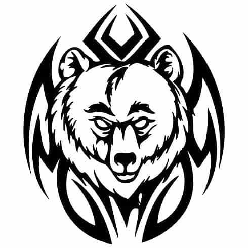 полинезия эскиз медведь