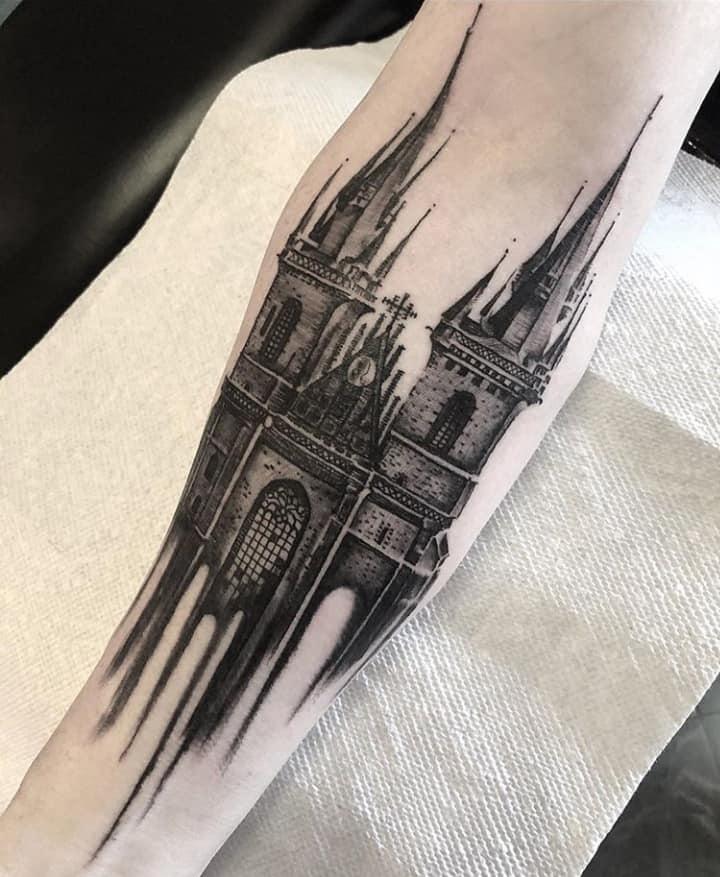 крепость тату